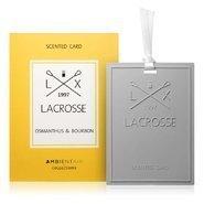 Vonná karta osmanthus&bourbon Lacrosse